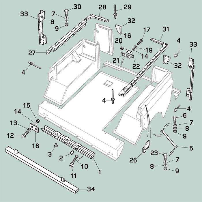 Land Rover Parts: Land Rover Defender Rear Door & Tailgate
