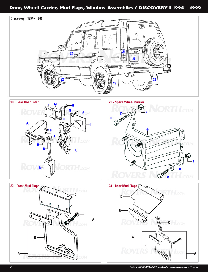 Land Rover Discovery Door Parts Diagram - Block And Schematic Diagrams on
