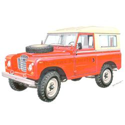 Land Rover Series II, IIA, & III Exmoor