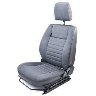 EXMOOR SEAT ASSEMBLY LHF DEFENDER NAS CAR DENIM