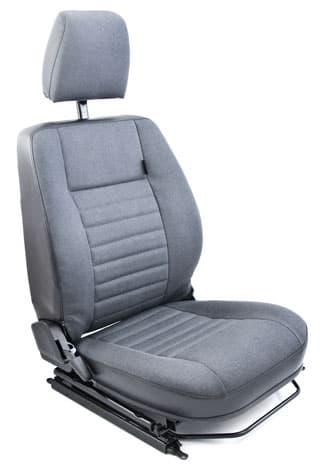 EXMOOR SEAT ASSEMBLY RH FRONT DEFENDER NAS CAR DENIM