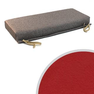 80 BENCH CUSHION RED