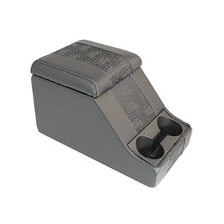 PREMIUM CUBBY BOX IN XS VINYL WITH  LOGO BLACK CENTRE PANELS