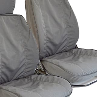 "NYLON WATERPROOF SEAT COVERS 110"" STATION WAGON 60/40 SEAT DEFENDER GREY"