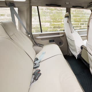 CANVAS SEAT COVERS (5) DISCO 1 SAND