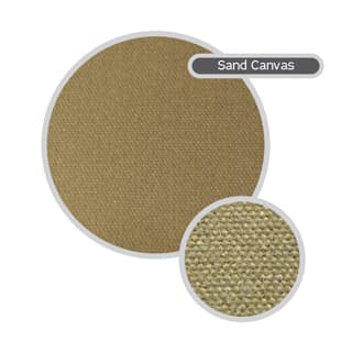 Canvas Seat Covers Front Outer Pair Discovery-Ii Sand
