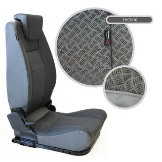 LOCK & FOLD REAR SEAT (L/H) - TECHNO