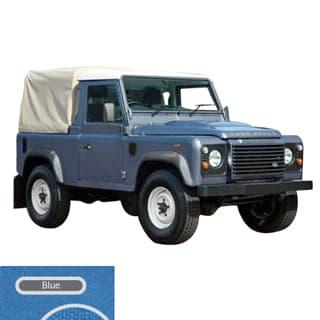 90  3/4 - CAB FIT BLUE CANVAS