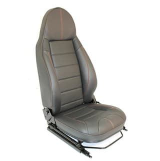 PREMIUM MODULAR SEATS- LXV STYLE  W. PERFORATED CENTRE PANELS (PAIR)