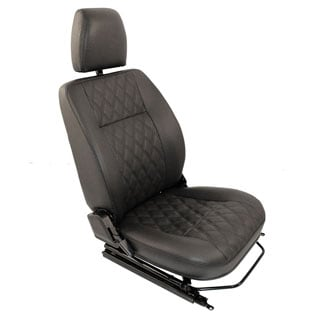 SEAT ASSEMBLY RIGHT-HAND FRONT OUTER DEFENDER DIAMOND BLACK XS
