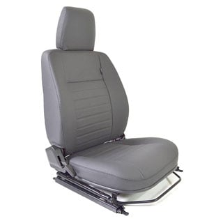 SEAT ASSEMBLY RIGHT-HAND FRONT OUTER DEFENDER GREY LEATHER