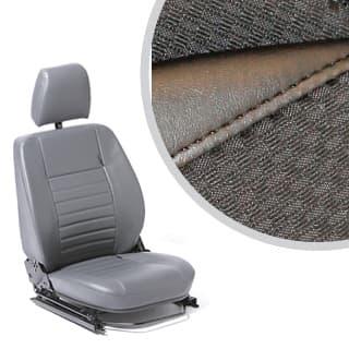 SEAT ASSEMBLY LEFT-HAND FRONT OUTER DEFENDER BLACK SPAN/MONDUS
