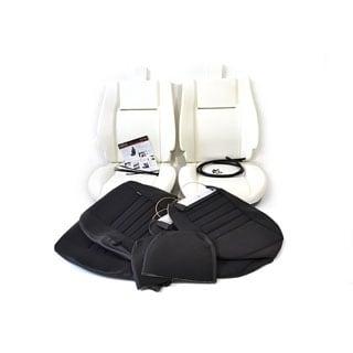TWO SEAT TRIM KIT BLACK SPAN MONDUS CLOTH