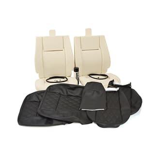 TWO SEAT TRIM KIT DIAMOND BLACK XS