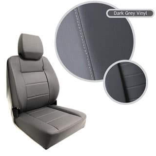 EXTREME MKII HIGH BACK SEAT ASSEMBLY - DARK GREY VINYL