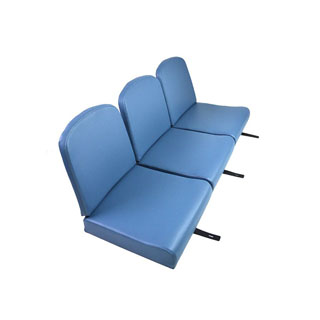 "SEAT SET FRONT 86"" RAF BLUE"