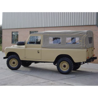 Land Rover Series II, IIA, & III Exmoor Canvas Tops | Exmoor