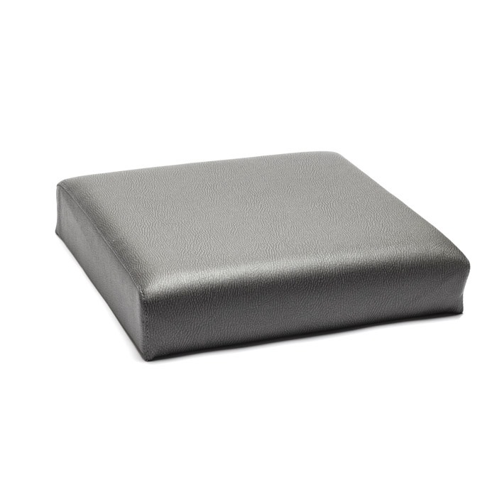SEAT BACK FRONT OUTER DRIVER OR PASSENGER WITH BOLTS SERIES ELEPHANT HIDE  GREY VINYL, EX444, EXT372-EHG